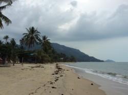 Regenwetter Koh Phangan